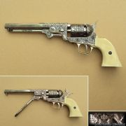 Navy Revolver USA Colt 1851 Ivory/Nickel